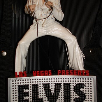 My Mcfarlane Elvis Statues