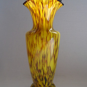 Czech Art Deco Vase