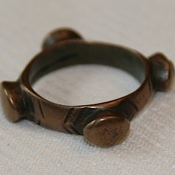 Ancient Bronze Ring - What was its purpose? Money?  - Fine Jewelry