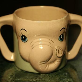 Child's Mug - a Pink Elephant!