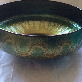 Metal bowl from Norway
