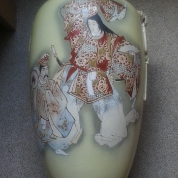 satsuma vase ?? - Asian