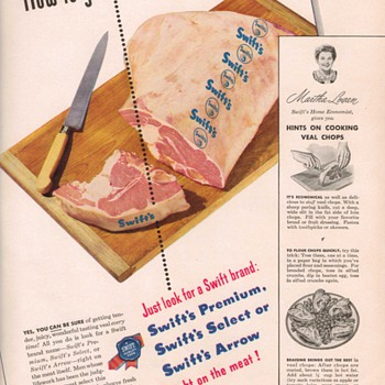 1950 Swift's Meats Advertisement - Advertising