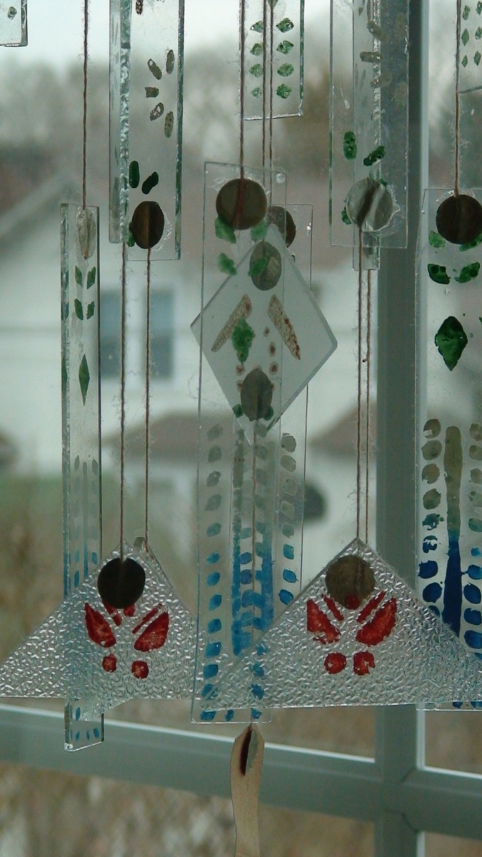 Chinese Glass Wind Chimes