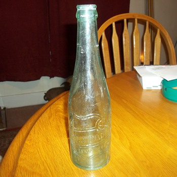 VINTAGE BEER BOTTLE  - Bottles