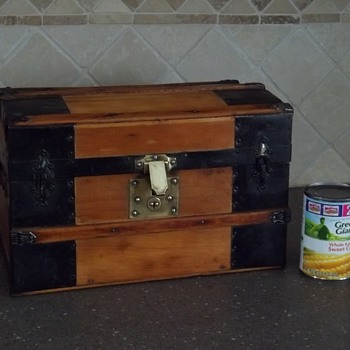 Restored Doll Trunk  - Furniture