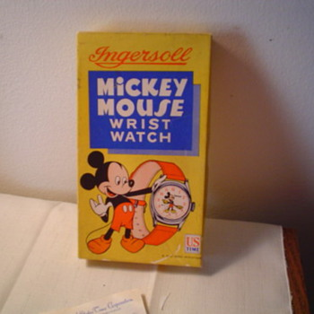 1950  Ingersoll Mickey (small version) - Wristwatches