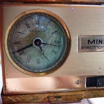 Cyprus Mini Electronic travel clock