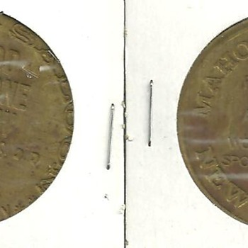 Old Saloon or Brothel Tokens Good For.......Authentic?