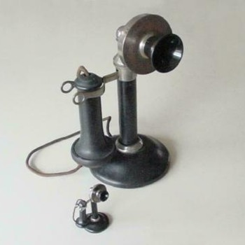 Stromberg Carlson Salesmans Sample Candlestick Telephone
