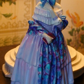"Royal Doulton Leslie Harradine ""Christine"" Figurine - Figurines"