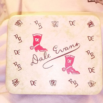 dale evans watch box??