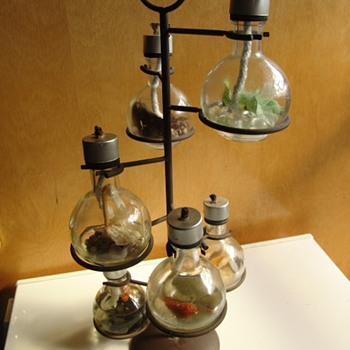 Vintage oil lamp - Lamps