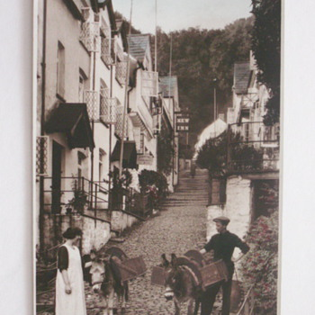 Clovelly High Street - Postcards