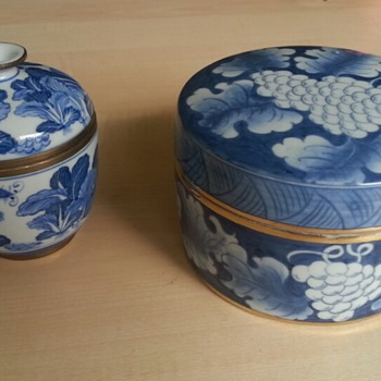 2 Porcelain Boxes