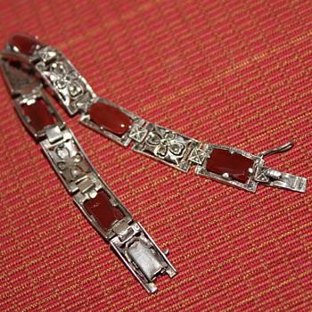 Garage Sale Find... Sterling Silver Bracelet - Fine Jewelry