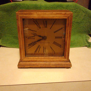 Rare Wind Up Seth Thomas Clock Looks like its signed Seth and dated 6/22/25 - Clocks