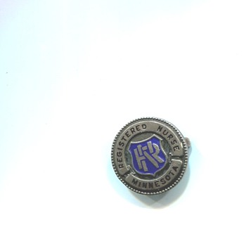 Minnesota Registered Nurse License Pin - Medals Pins and Badges