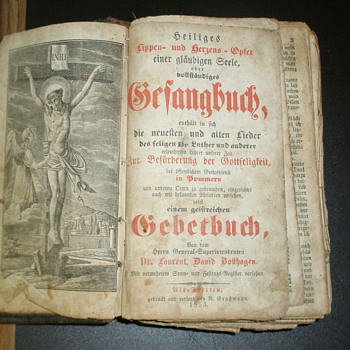 1853 German Bible ? - Books