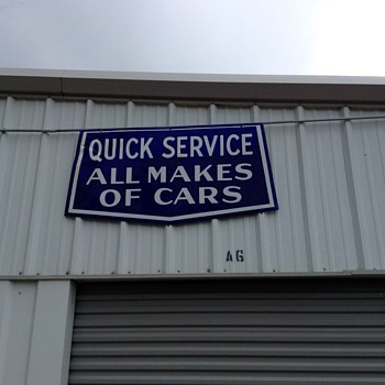Quick Service Sign - Petroliana