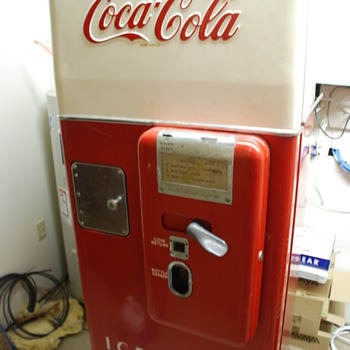 Coca Cola C51 Cavalier 6oz bottle Machine - Coca-Cola