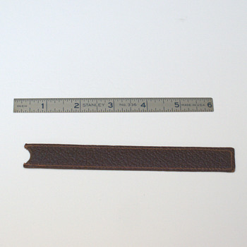 "Stanley Model 336 6"" Metal Ruler with Sleeve"