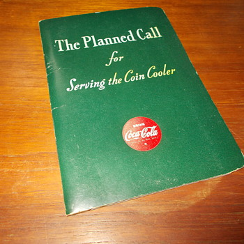 1944 &quot;The Planned Call&quot; Pocket Guide for Coca-Cola Salesmen