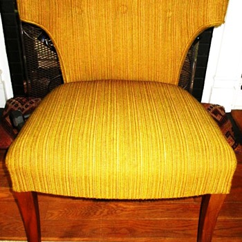 My Groovy Retro Upholstered Chair