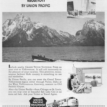 1951 - Union Pacific Railroad Advertisements