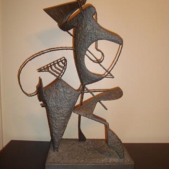 Metal Sculpture - Mid Century - Mid-Century Modern
