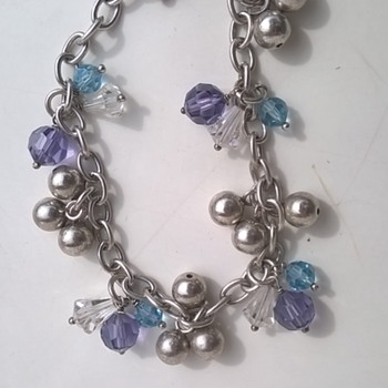 Zinzi Sterling Bracelet Thrift Shop Find 50 Cents - Fine Jewelry