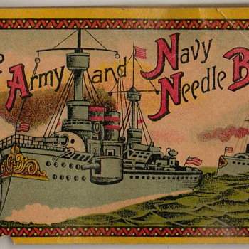 The Army and Navy Needle Book - NYC - Sewing