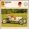 Vintage Car Card - Mercedes 60/70 Racer