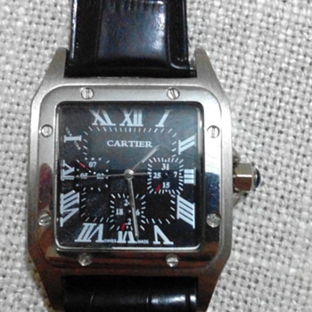 my cartier watch