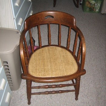 Oak  Barrel back - Furniture