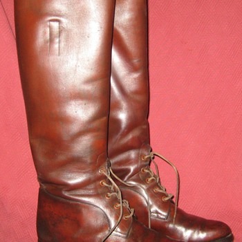 Vintage Abercrombie & Fitch Co. Field Boots