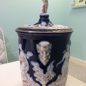 Porcelain jar or ice bucket, Italy