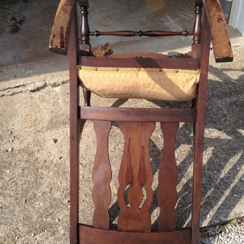 Dark Antique or Vintage Rocking Chair ? - Furniture