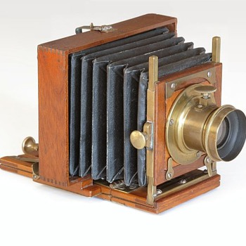 E. & H.T. Anthony Patent Bijou Camera, c.1886