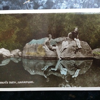 old collectable cards - Postcards