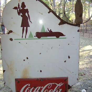1940&#039;s coke sign
