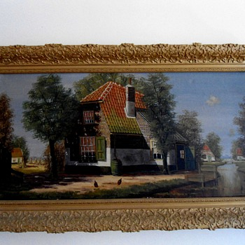 D v Dijk  Dutch Painting
