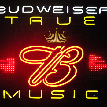 Budweiser True Music Neon - Signs