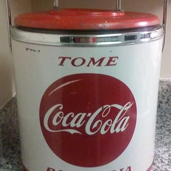Vintage Spanish Coca Cola Cooler  - Coca-Cola