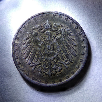 1916 Beaded 10 Pfennig