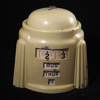 Kal Klok 4-in-1 Rotary Calendar Alarm Clock - Clocks