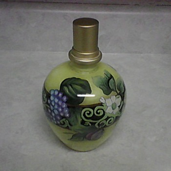 PATRICIA BRUBAKER SCENT BOTTLE - Art Glass