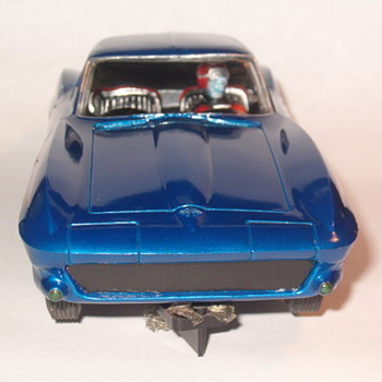 REVELL 1/32 SLOT CAR CORVETTE GT - Model Cars