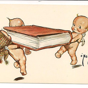 Rose O&#039;Neill Kewpie Vintage Postcards - Postcards