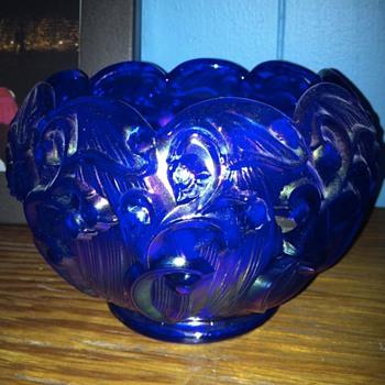 Cobalt blue bowl  - Glassware